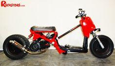 Honda Ruckus (scooter talk) red