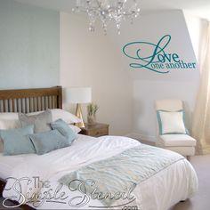Corinthians Love Is Patient Love Is Kind Etc Custom Vinyl Wall - Custom vinyl wall decals for master bedroom