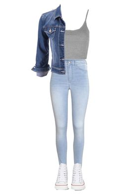 """This is something I would wear!"" by alexiaaxels ❤ liked on Polyvore featuring H&M, Topshop, maurices and Converse"