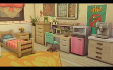 sims haven or sim shaven? Sims Freeplay Houses, Sims 4 Houses, Sims 4 College, Dressing Room Decor, Sims 4 House Plans, Sims 4 Bedroom, Sims Free Play, Sims 4 House Design, Casas The Sims 4