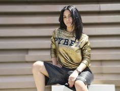 GIULIA DE LELLIS #new #collection #pyrex #pyrexstyle #springsummer16 #giuliadelellis #pyrexoriginal #wearingpyrex #shirt #streetstyle #nothingbetter #shorts #godsavethestreet