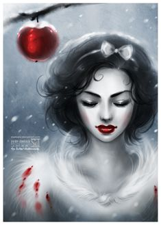 This is a gorgeous Snow White.    ....if only I could find the other princesses done similarly.