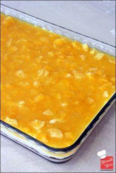 Portakal Soslu Sütlü Tatlı