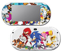 Sonic Boom Hedgehog Tails Amy Rose Knuckles Eggman Shattered Crystal Fire  Ice Orbot Cubot Shadow Video Game Vinyl Decal Skin Sticker Cover for Sony Playstation Vita Slim 2000 Series System >>> See this great product.Note:It is affiliate link to Amazon.