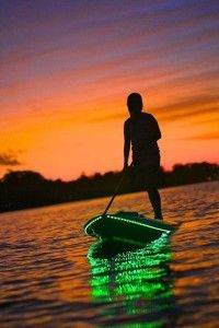 Gear Review: NightSUP Light Kits | SUP Magazine  recommended by http://www.fishinglondon.co.uk/