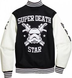 SUBMISSION: ANTHONY TAYLOR Adidas Star Wars 'super death star' Varsity