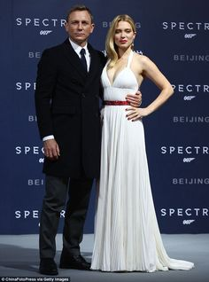 Daniel Craig Doesn't Think James Bond is a Bad Guy: Photo Daniel Craig poses on the red carpet at the premiere of his film Spectre on Thursday (November in Beijing, China. The actor was joined at the… Daniel Craig James Bond, Rachel Weisz, Service Secret, Daniel Graig, Lea Seydoux, The Spectre, Best Bond, Look Formal, James Bond Movies