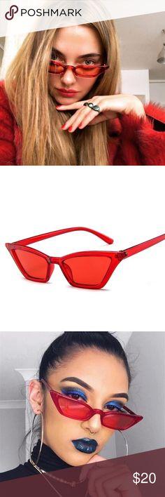 Cat Eye Sunglasses fashion sunglasses retro design and transparent cat eye glasses Accessories Sunglasses