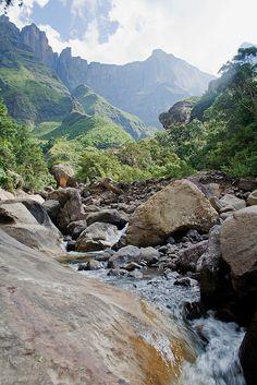 Thukela Falls - Dragon Mountains South Africa