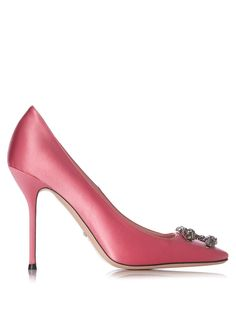 Dionysus satin pumps | Shaped with a strong square toe, Gucci's paradise-pink…