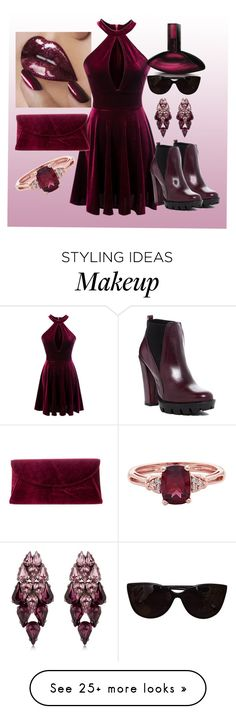 """""""Just a Color"""" by helloitsmari on Polyvore featuring Steve Madden, Charles David, Calvin Klein, Tiffany & Co. and Ellen Conde"""