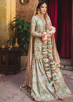 Pakistani Bridal Dresses Latest Designs Online – Nameera by Farooq Asian Bridal Dresses, Pakistani Wedding Outfits, Pakistani Bridal Dresses, Pakistani Wedding Dresses, Pakistani Dress Design, Bridal Outfits, Indian Dresses, Indian Outfits, Pakistani Clothing