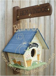 CASINHA DE PASSARINHO by BILUCA ATELIER, via Flickr