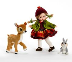 Madame Alexander -Wendy Loves Bambi