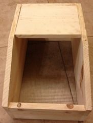Nesting box instructional for meat rabbits