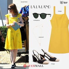 """#GetTheLook of Emma Stone in """"LA LA LAND"""" and shine your way. You can get all the pieces at our Siam Mall #TenerifeShopping"""