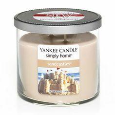 Yankee Candle simply home 10-oz. Sandcastles Jar Candle #DestinationSummer #Kohls #beach