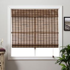 This stunning New Guinea Roman Shades are carefully woven to filter the light in a way that is warm and appealing. Each shade is made with real bamboo and other environmentally friendly materials for the perfect window treatment.