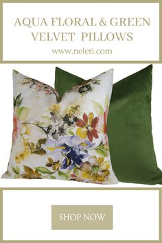 Handmade pillow covers made from luxury fabrics and velvets. Handmade Cushion Covers, Handmade Cushions, Green Velvet Pillow, Velvet Pillows, Throw Pillow Covers, Throw Pillows, How To Make Pillows, Lumbar Pillow, Boho Decor