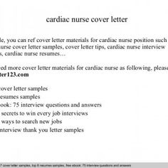 interview questions and answers free download pdf and ppt file cardiac nurse cover letter - Nursing Interview Questions And Answers