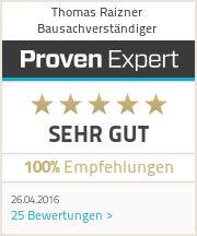 Erfahrungen & Bewertungen zu Thomas Raizner Bausachverständiger