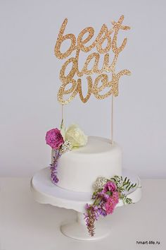 Табличка для свадебного торта