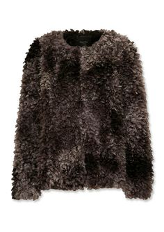 16 Chic Pieces to Help You Brave the Cold - Chubby Faux Fur Coat from #InStyle