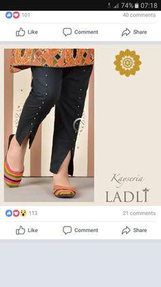 Abdullha Plazzo Pants, Salwar Pants, Peplum Pants, Trouser Pants, Dress Neck Designs, Designs For Dresses, Blouse Designs, Sleeve Designs, Simple Pakistani Dresses