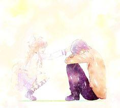 Anime manga : Angel Beats! | Characters : Hinata hideki, Yui | love, cute, sad
