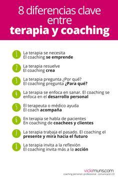 ¿El coaching es terapia? Con este post, mi idea es dar a conocer las diferencias entre terapia y coaching personal, profesional que bajo mi punto de vista existen.
