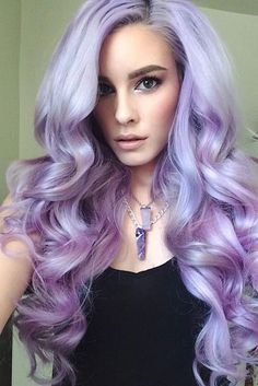 16 Examples of the Lavender Hair Color Trend
