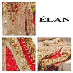 A classic Élan bridal ready to be delivered #details #redgold #brides #weddings…