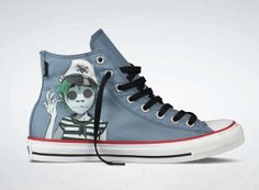 fc9e6569a2e0 Converse x Gorillaz Chuck Taylor Fall 2012 Sneaker Collection The iconic  cartoon band Gorillaz continues to work with Converse on sneaker  collaborations for ...