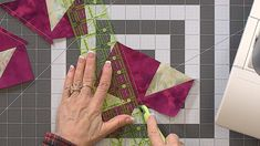 Quilting For Beginners, Quilting Tips, Quilting Tutorials, Sewing Tutorials, Sewing Ideas, Tutorial Sewing, Sewing Projects, Scrap Quilt Patterns, Applique Quilts