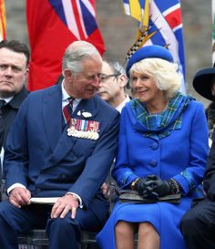Camilla, Duchess of Cornwall and Prince Charles, Prince of Wales attend an official 'Welcome to Canada'Cceremony at Grand Parade on May 19, 2014 in Halifax, Canada.