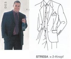 +Klotz Anzugjacke Sakko Baukasten ab Lager. Robust + Knitterarm!