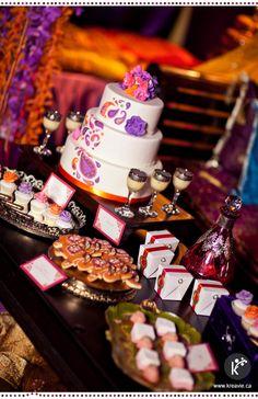 Table de douceurs pour un mariage indien | Bienvenue en Inde | via Kréavie
