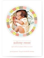sweet birth announcements