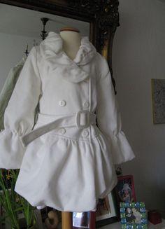 Kaufe meinen Artikel bei #Mamikreisel http://www.mamikreisel.de/kleidung-fur-madchen/mantel/15677763-mantel-aus-italien-gr-128-in-off-white-ballonrock-von-prix-neu