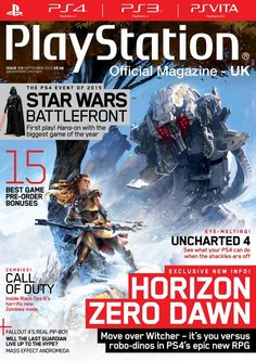Official #PlayStation Magazine 113. Horizon zero dawn.