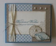 By the Sea Shore by catrules - Cards and Paper Crafts at Splitcoaststampers