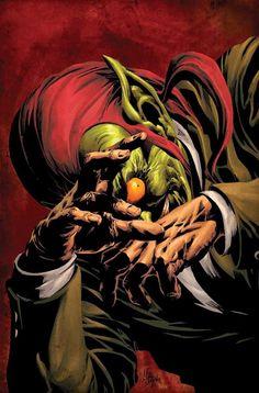sorprendentes ilustraciones de Spiderman y el Duende Verde - Taringa!