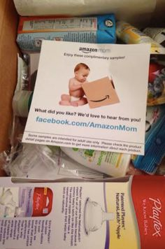 FREE Amazon Baby Welcome box, get your freebie. Got mine last week, finally opened it. Lots of samples...best thing a free nurser bottle. I now have three completely free bottles.
