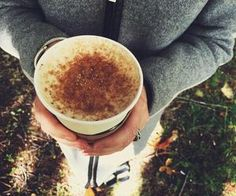 #falltreats #hotlatte #yummy