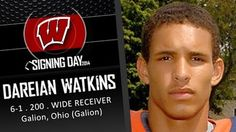 Highly rated WR recruit Watkins leaves Badgers after stupid decision