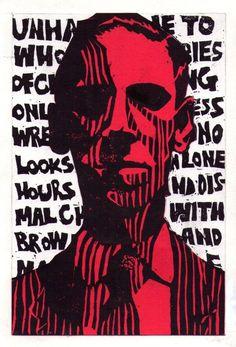Lovecraft by takoyakidaisuki on DeviantArt Hp Lovecraft, La Sombra Sobre Innsmouth, Urban Rivals, Call Of Cthulhu Rpg, Wallpaper Hp, Lovecraftian Horror, Space Ghost, Book Writer, Modern Artists