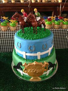 Race Horse Cake (Le Petite Bakery)