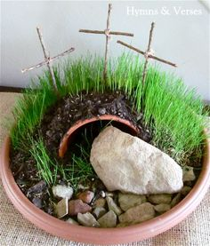Plant a Resurrection Garden | Hymns and Verses