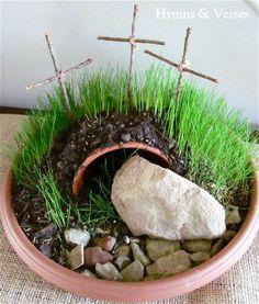 Plant a Resurrection Garden   Hymns and Verses