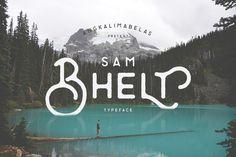 @newkoko2020 Bhelt Typeface by Angkalimabelas on @creativemarket#font #buy #discount #design #lettering